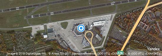 Flughafen Berlin-Tegel - Karte