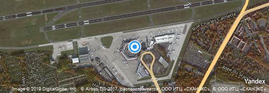 Aéroport de Berlin-Tegel- carte