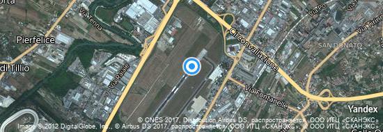 Aéroport de Pescara-Abruzzes- carte