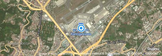 Аэропорт Неаполь - Карта
