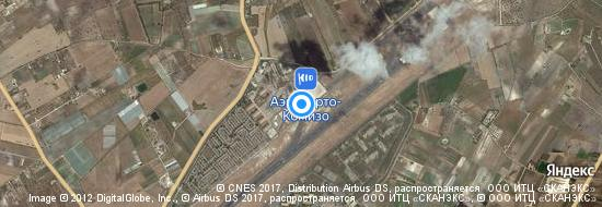 Аэропорт Камизо - Карта