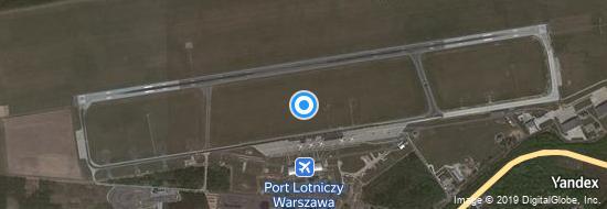 Aéroport de Varsovie-Modlin Mazovie- carte