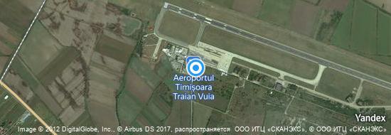 Aéroport de Timișoara-Traian Vuia- carte