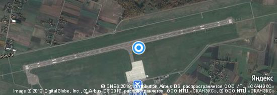 Flughafen Lublin - Karte