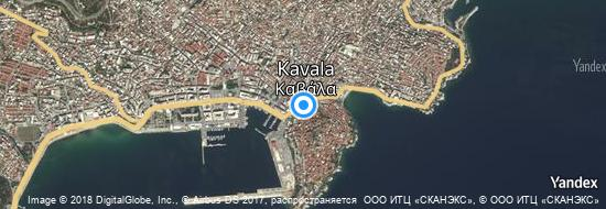 Airport Kavala - Map