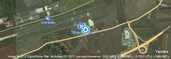 Flughafen Târgu Mureș - Karte