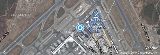 Aeropuerto Helsinki - mapa