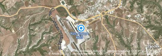 Airport Kos - Map