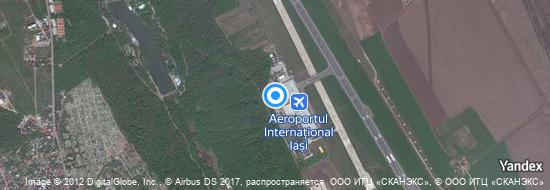 Aéroport d'Iași- carte