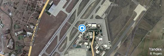 Flughafen Ankara - Karte
