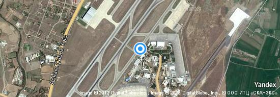 Aéroport d'Ankara-Esenboğa- carte