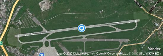 Flughafen Charkiw - Karte
