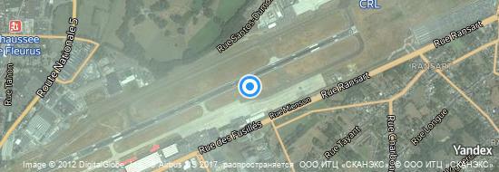Aéroport de Charleroi-Bruxelles-Sud- carte