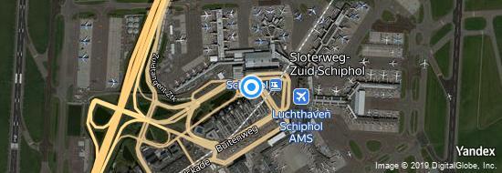 Aéroport d'Amsterdam-Schiphol- carte