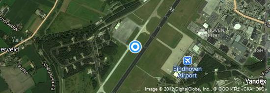 Flughafen Eindhoven - Karte