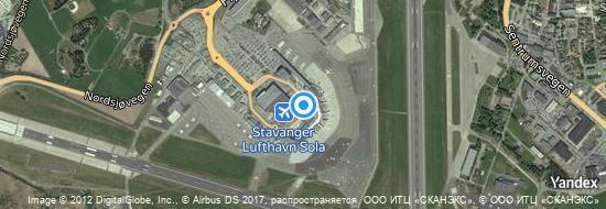 Aéroport de Stavanger-Sola- carte