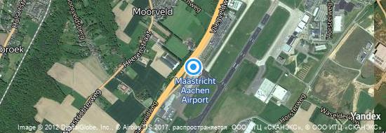 Aéroport de Maastricht-Aix-la-Chapelle- carte