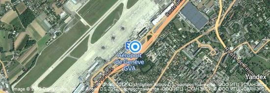 Aéroport de Genève-Cointrin- carte