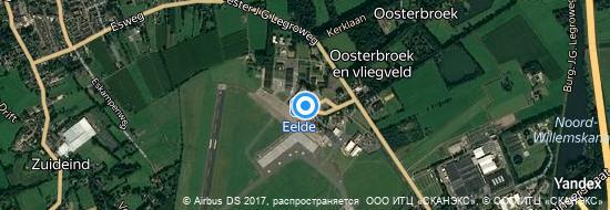 Flughafen Groningen - Karte