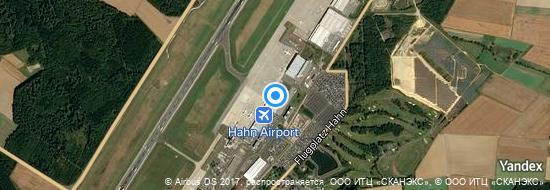 Aeropuerto Frankfurt Hahn - mapa
