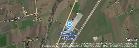 Aéroport de Coni-Levaldigi- carte