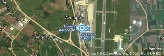 Aéroport de Turin-Caselle- carte