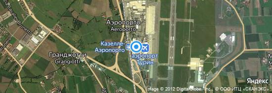 Аэропорт Турин - Карта
