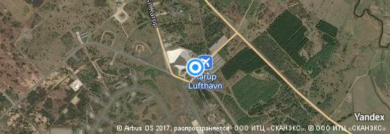 Airport Karup - Map