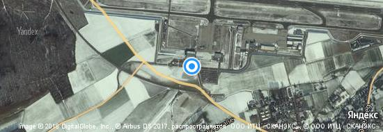 Flughafen Kassel - Karte