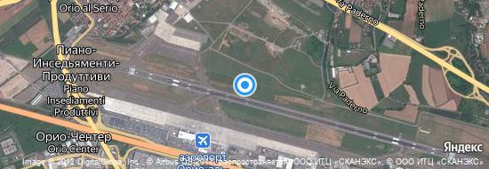 Аэропорт Милан-Бергамо - Карта