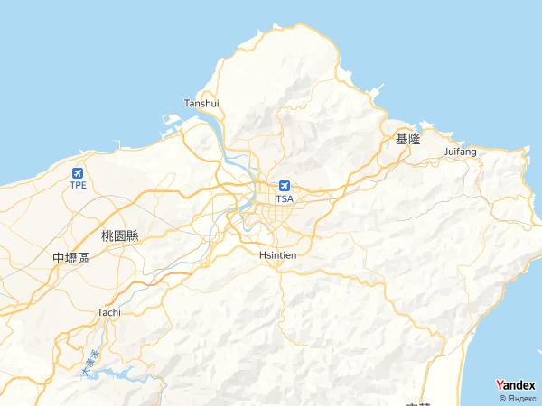 خريطة تايبيه، تايون