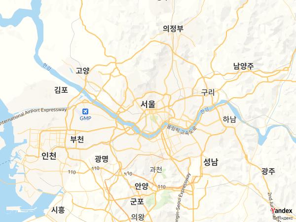 خريطة سول، جمهورية كوريا الجنوبية