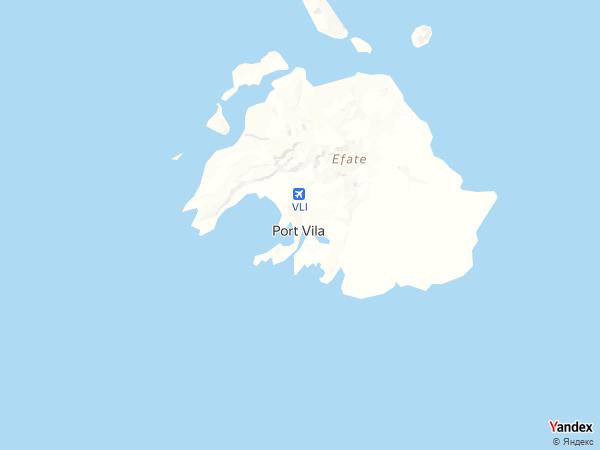 خريطة  بورت فيلا ، جمهورية فانواتو