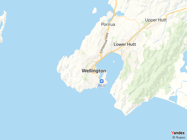 خريطة ويلينغتون، دولة نيوزيلندا