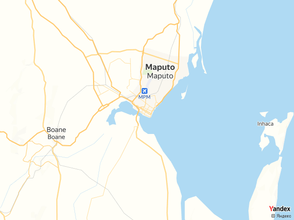 خريطة  مابوتو ، جمهورية موزمبيق