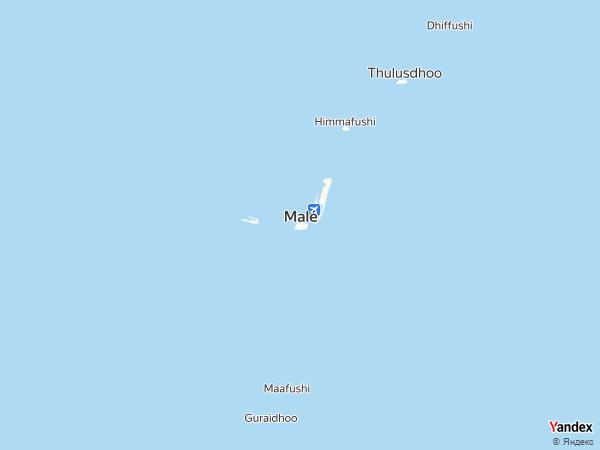 خريطة  ماليه ، جزر المالديف