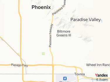 Direction for - 2575 East Camelback Road Phoenix,Arizona,US