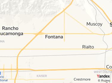 Direction for -  1 Nail And Spa Fontana,California,US