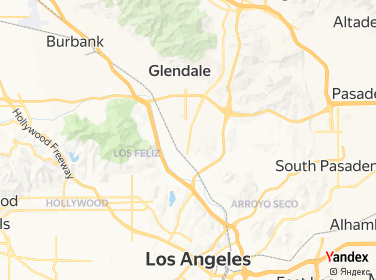 Direction for - 1241 S Glendale Avenue Project Glendale,California,US
