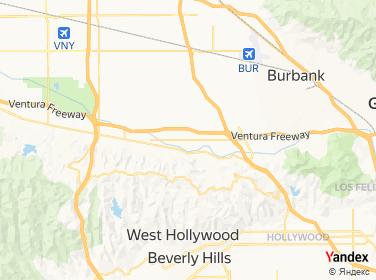 Direction for - 24 7 Bail Bonds Studio City,California,US