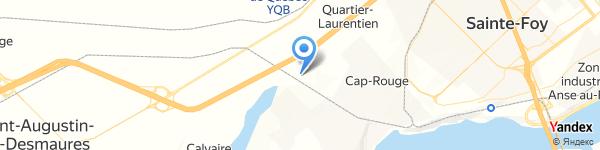Metro Saint-Augustin-de-Desmaures rue de l'Hêtrière