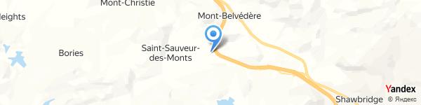 Bench Saint-Sauveur Factory Outlet - St. Saveur
