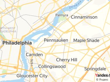 Direction for - 24 7 A Locksmith Pennsauken,New Jersey,US