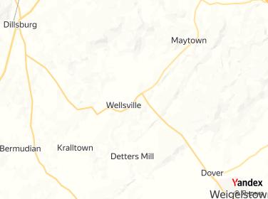 Direction for - Warrington Farm B  B Wellsville,Pennsylvania,US