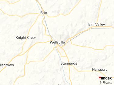 Direction for - Elks Lodge Wellsville,New York,US