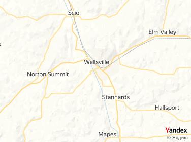 Direction for - Wellsville Village Water Dept Wellsville,New York,US