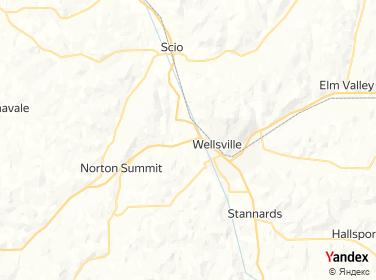 Direction for - King Wok Wellsville,New York,US