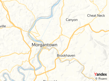 Direction for - 1 Touchdown City Preowned Auto Morgantown,West Virginia,US