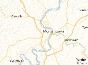 Direction for - 1 Touchdown City Preowned Morgantown,West Virginia,US