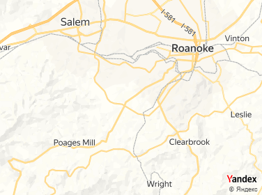 Direction for -  1 Nails  Spa Roanoke,Virginia,US